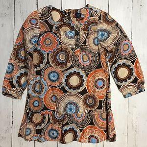 Baby Gap Brown Long Sleeve Dress 3T